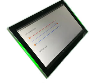 "China Commercial Grade 10"" Android Panel PC Tablet With LED Light And NFC Reader factory"