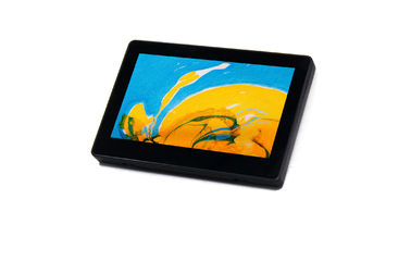 "China 7"" Indoor Touch Tablet With POE,RGB LED Light And Wall Mounting Kit factory"