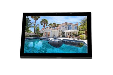 "China 10"" IPS In Wall Flush Mount Home Automation POE Android Tablet With SIP Intercom factory"