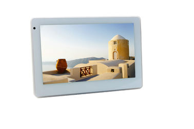 Office Scheduling Android POE Touch Tablet With Inwall Mount LED Light NFC