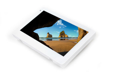 China Octa Core LED Light POE Tablet With Wall Mount Android NFC For Meeting Room Ordering factory