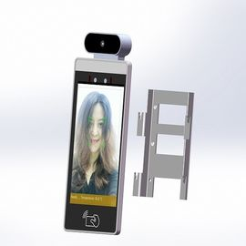 POE Android 8 Inch Device With Facial Recognition And Temperature Measure For Door Access