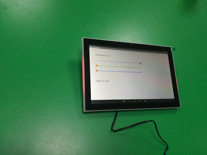 "10"" Android 6.0.1 system Touch Screen Panel PC with front NFC reader, RS485, POE RJ45"