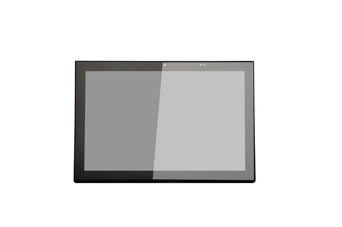"Q8919 SIBO 10"" Standard POE IEEE802.3af Large Touch screen Panel PC with LED light strip for Office Room Schedule"