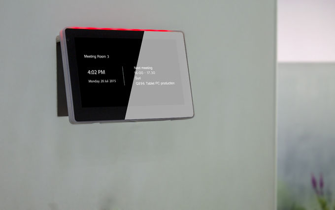 Wall Mounting Touch Control Panel With PoE Power Supply and Android Operating System For Home Automation Solutions